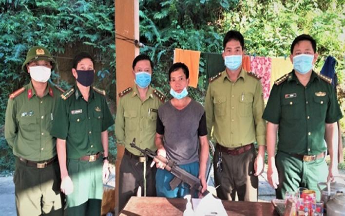 Hạt Kiểm lâm VQG Phong Nha - Kẻ Bàng phối hợp vận...